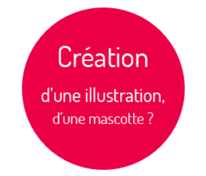 Graphiste freelance, creation illustrations, mascottes entreprises