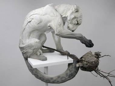 """Beth Cavener – """"Forgiveness"""" sculptures"""