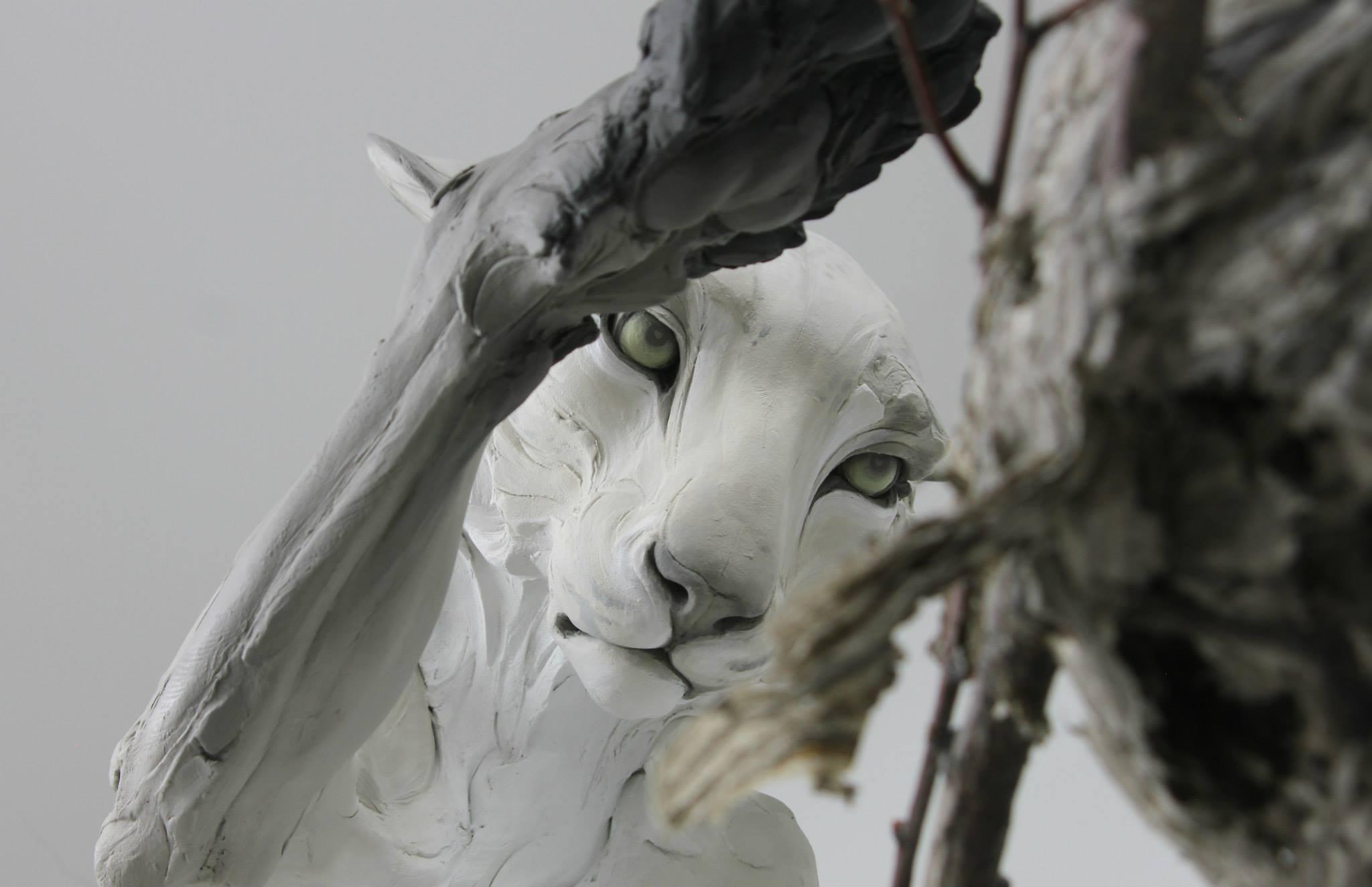 Beth Cavener – Forgiveness sculptures