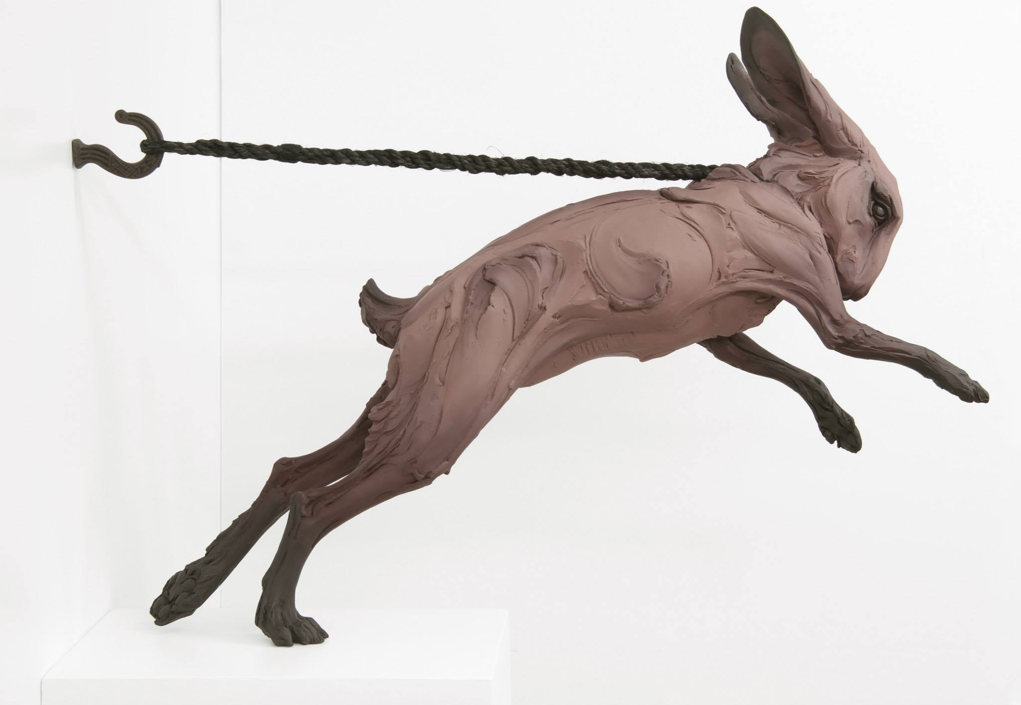 "Beth Cavener – ""Kept"" sculptures"