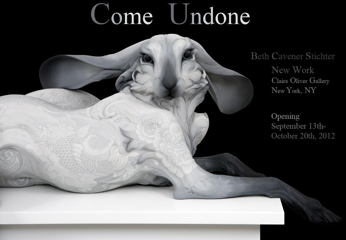 Beth Cavener Stichter L'amante sculpture