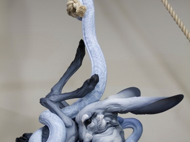 Beth Cavener – Tangled Up in You – sculptures