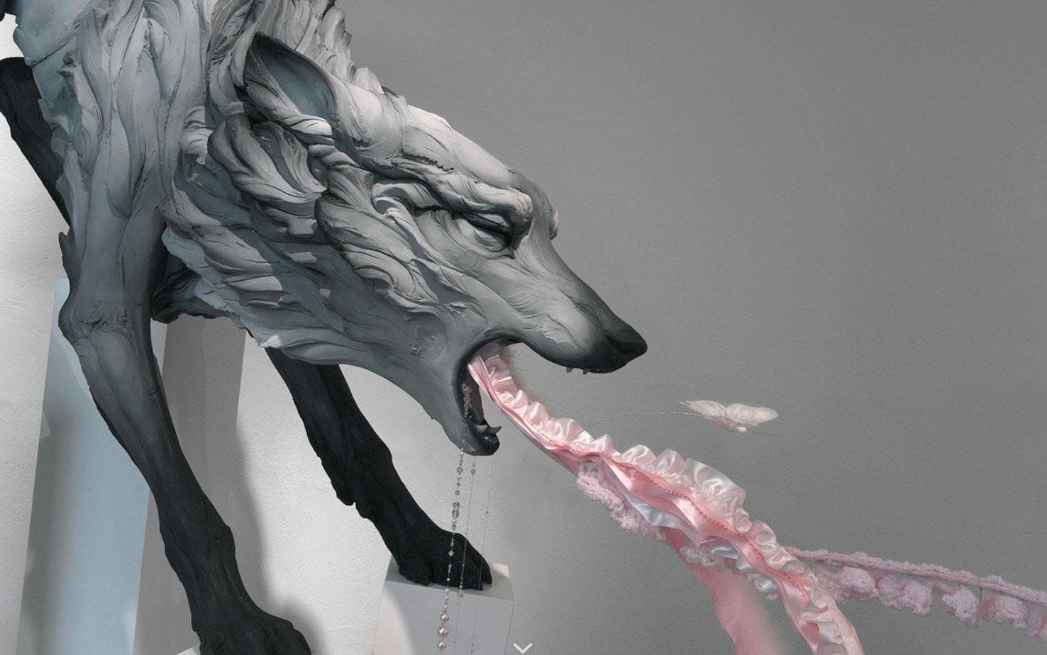 Beth Cavener – sculptures
