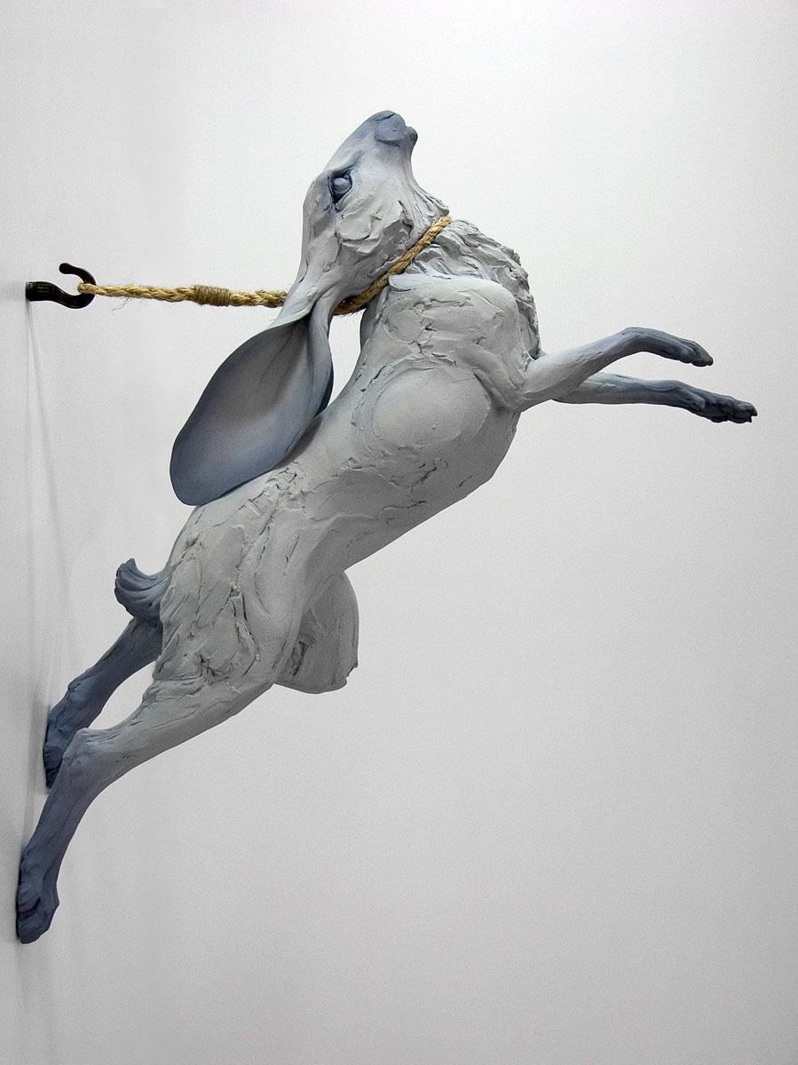 Beth Stichter Cavener – Sculpture rabbit