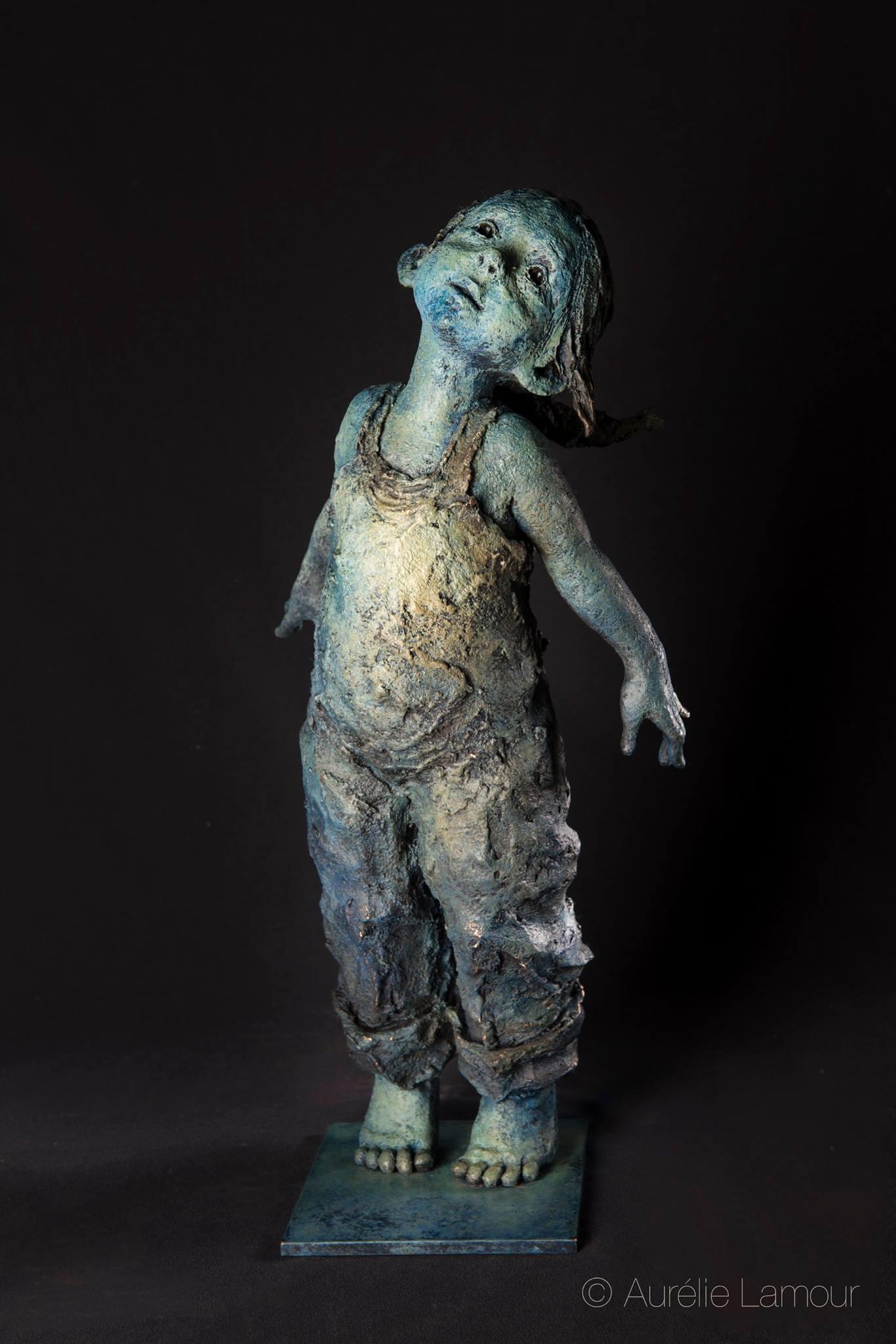 """Jurga sculpteur """"Flying"""" , bronze"""