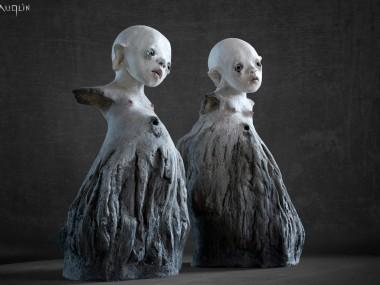 Nathalie GAUGLIN – Danse avec moi – sculptures figuratives