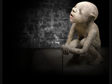 Nathalie Gauglin – Le caillou – sculptures figuratives