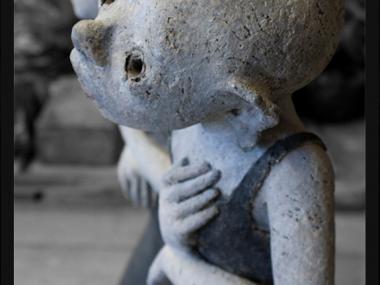 Nathalie Gauglin – Les demoiselles – sculptures figuratives