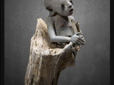 Nathalie Gauglin – petit homme – sculptures figuratives