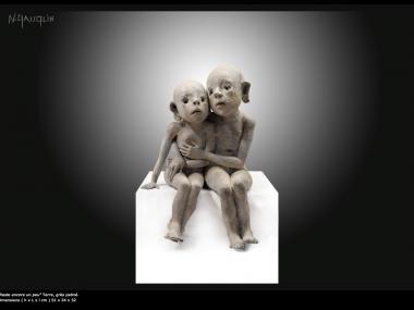 Nathalie Gauglin – reste – sculptures figuratives