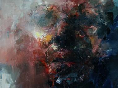 Ryan Hewett, Close, oil on canvas / Artiste Afrique du sud