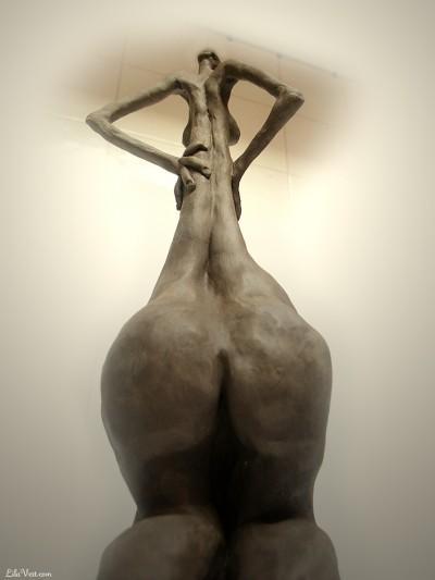 Mademoiselle, Sculpure figurative ©LilaVert 2005