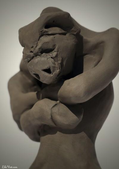 sculpture argile figurative – Toro – ©LilaVert