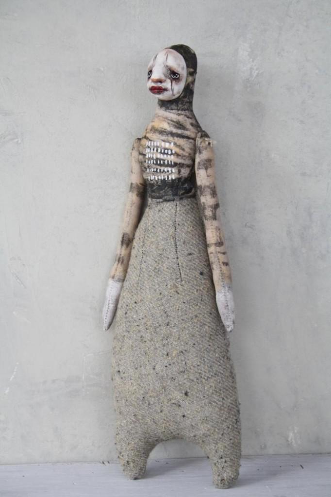 Stephanie Vandal - CHÉIMA - Mixed media art sculptures