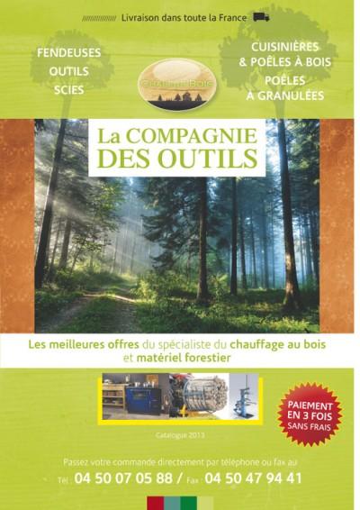 Création brochure Compagnie des outils – 2013