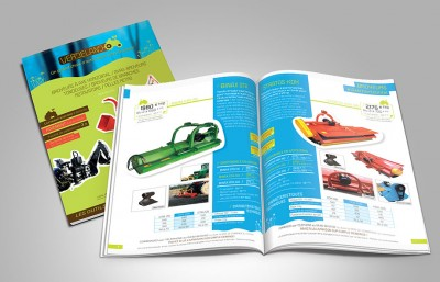 Creation catalogue Verdeland – 24 pages / 2014