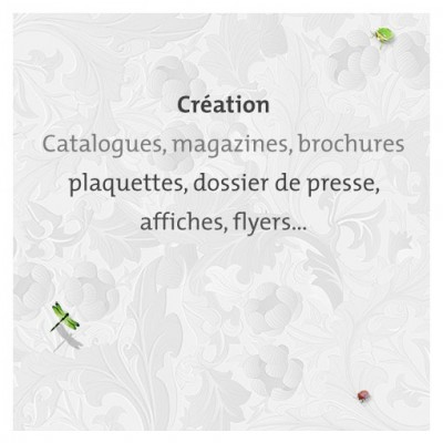 Graphiste freelance : creation magazine, brochures, catalogues