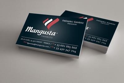 Carte de visite Mangusta Finances