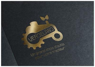 Creation Logo Verdeland – Materiels agricoles / Outils pour votre tracteur