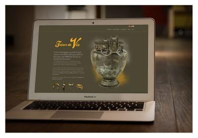 Refonte responsive du site sur Le Vase de Vix – http://www.vasedevix.fr