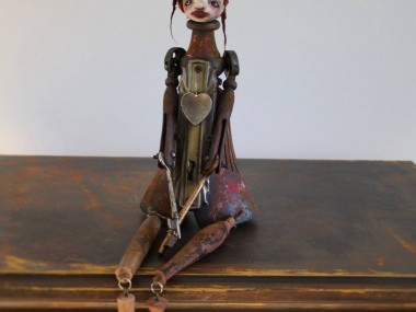 stephanie vandal – sculptures steampunk – Autumn
