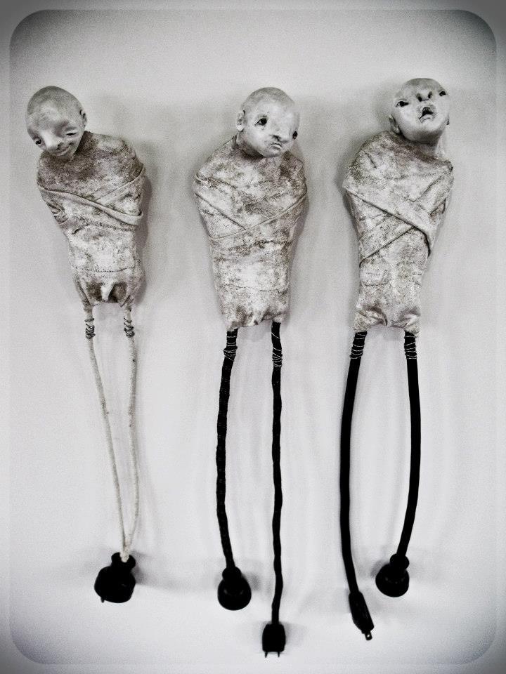 Sculptures Stephanie Vandal
