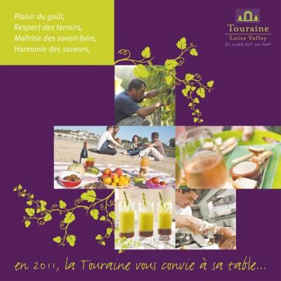 {Print + Emailing} Voeux 2011 pour le Comité Départemental du Tourisme de Touraine
