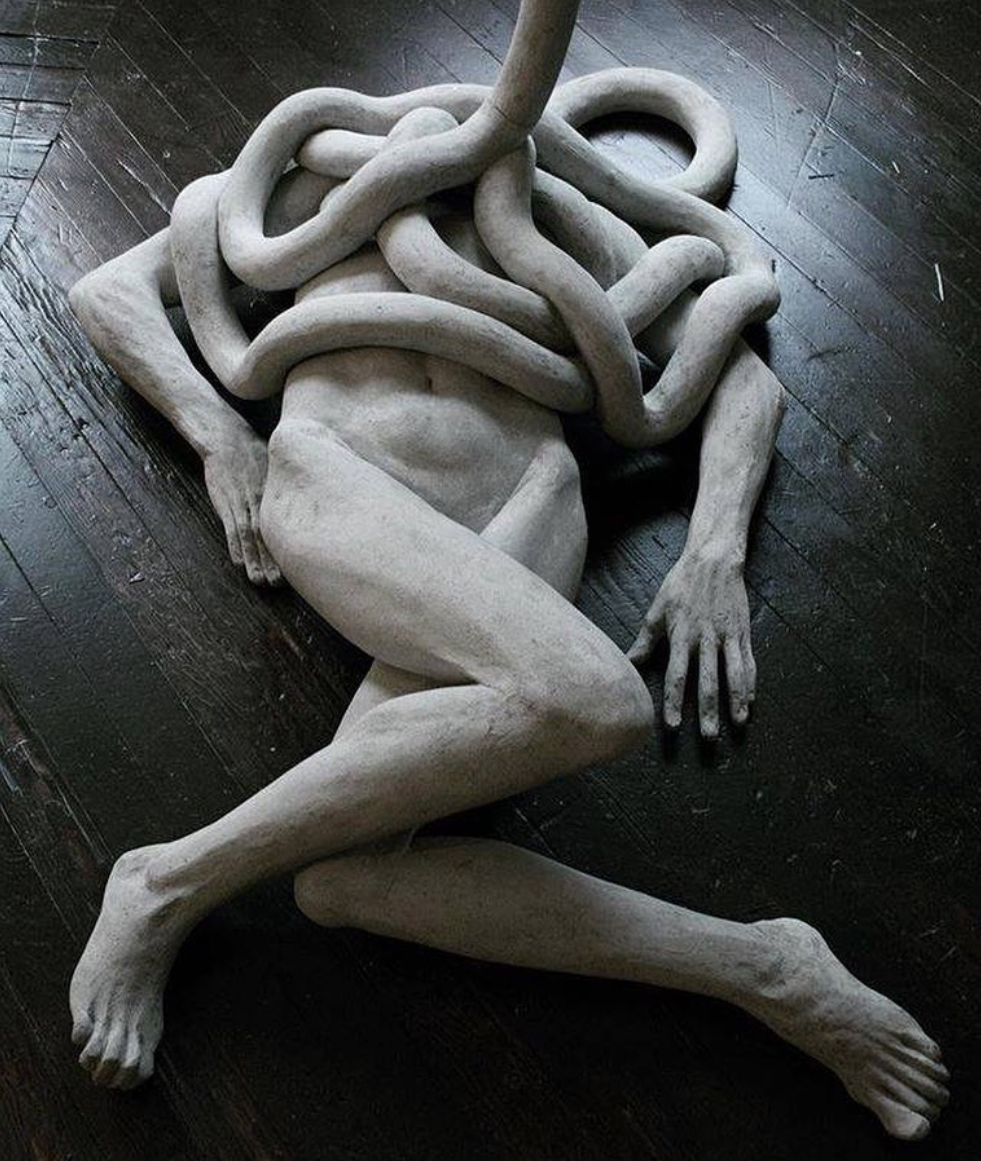 "Emil Alzamora, ""Afterlife Afterthought"" Sculpture"