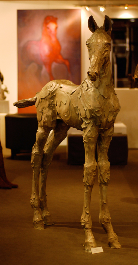 Catherine Thiry – Sculpture horses