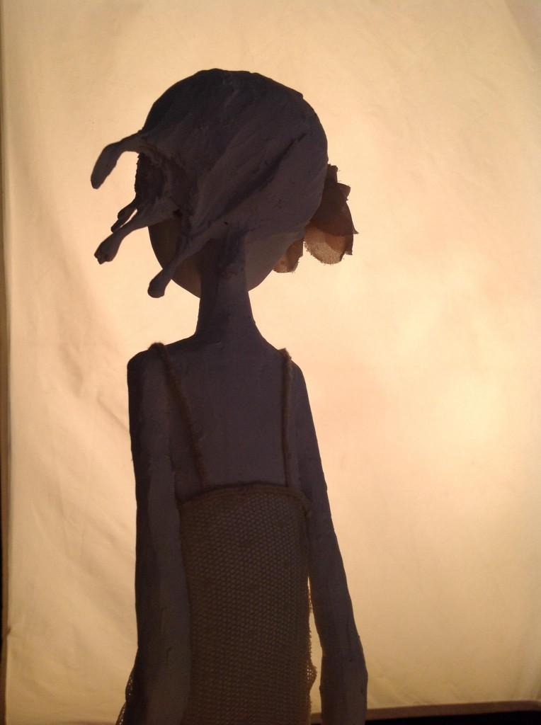Maria Rita - Paper sculpture