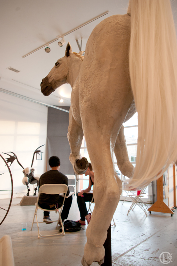 Sculpture Susannah Zucker horse