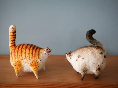 KATYA Fairy tales – 11 cm, papier mache, modelling clay