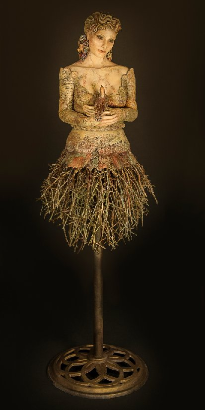 Sculpture Susan Saladino – Last Bird