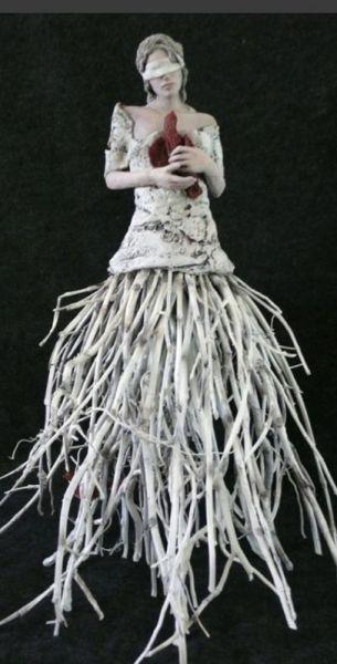 The Last Bird- Susan Saladino Sculptures