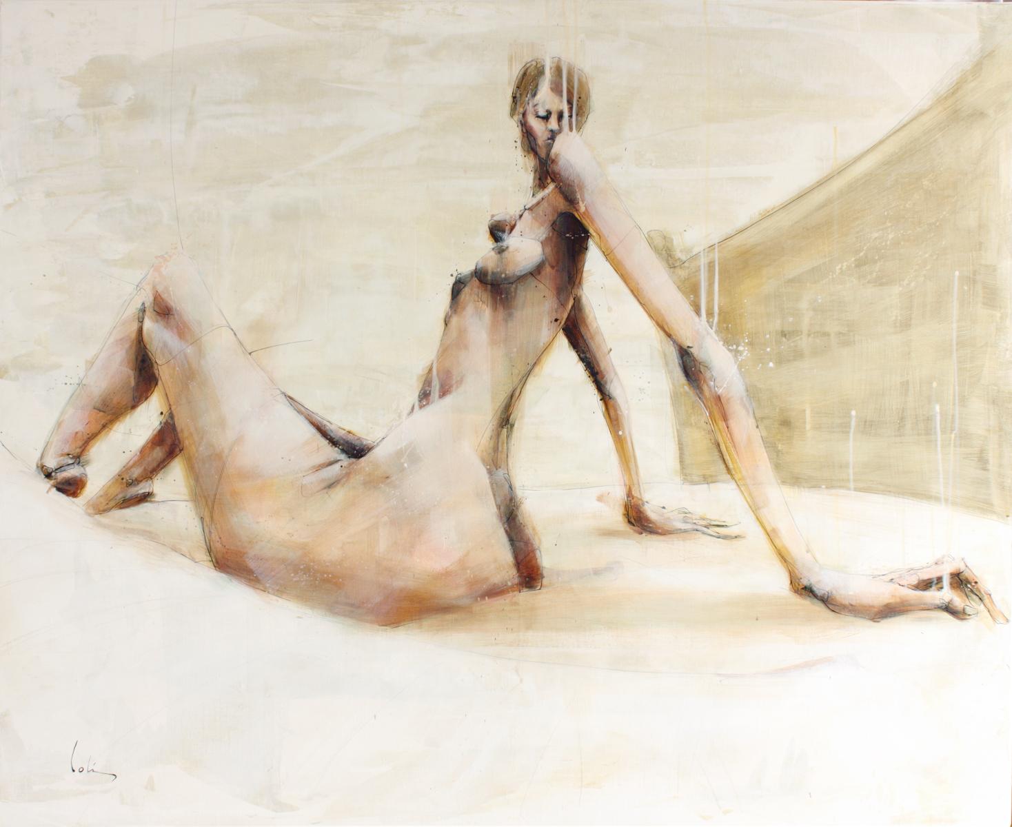 la_chambre - Antoine Colin - Artiste peintre
