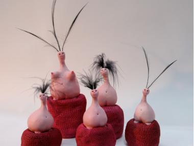 Petites et grandes creatures – Makhi Xenakis, Sculptures