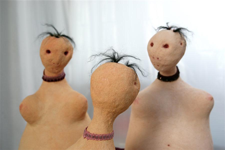 Makhi Xenakis, Sculptures