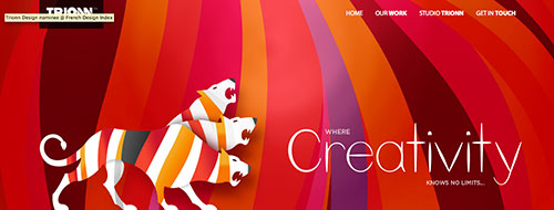 Trionn- a studio design - site responsive design