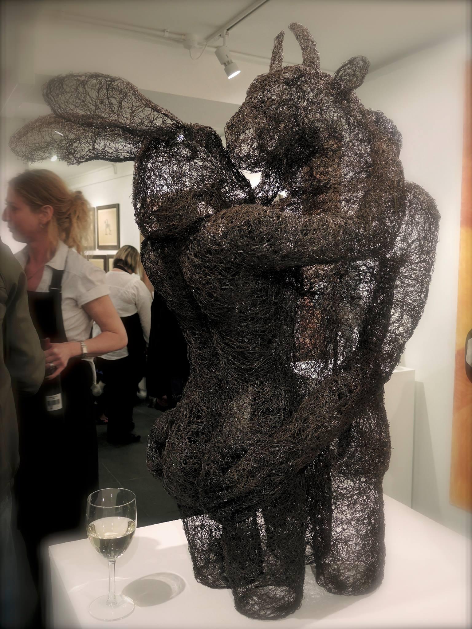 Sophie Ryder Artist – Transparent Minotaur [Wire, 2013]