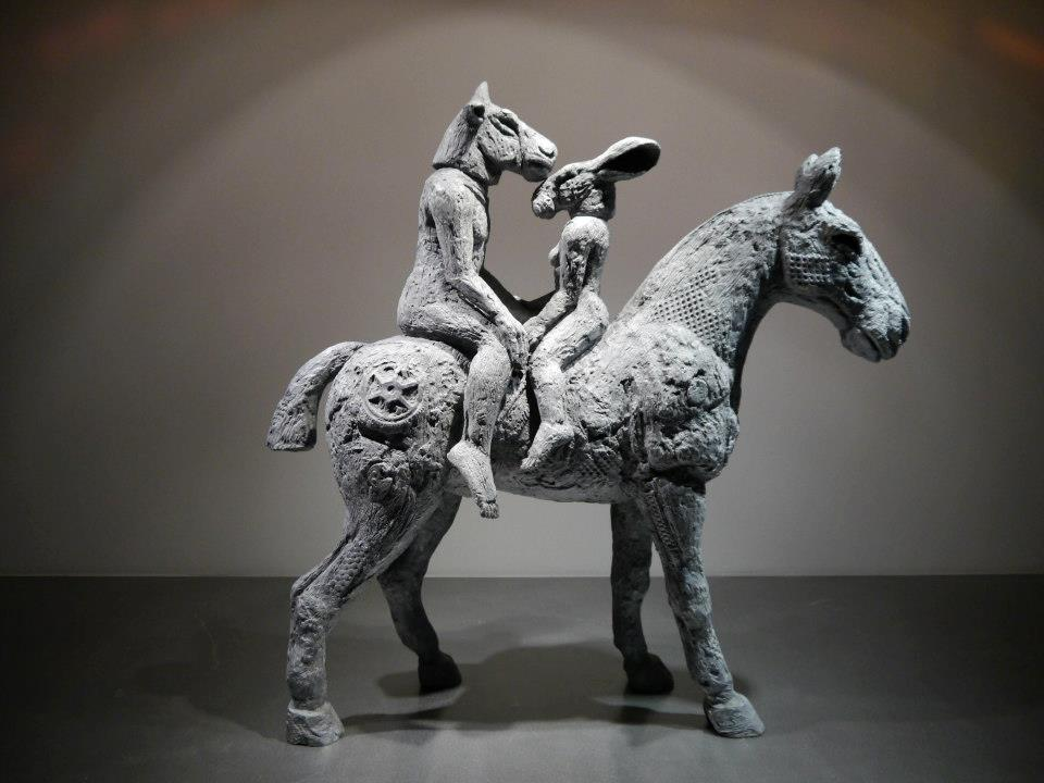 Sculptures Sophie Ryder – Minotaure