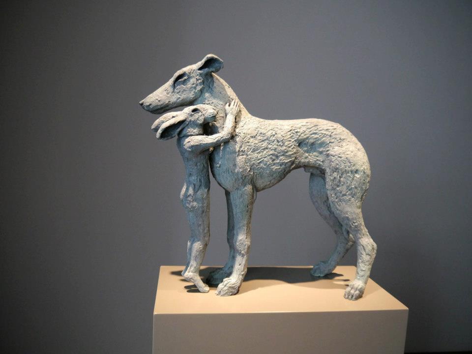 Sophie- Ryder, sculpture loup