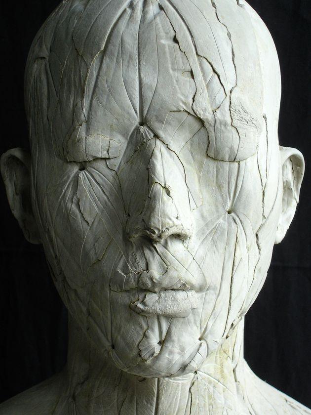 Ah Xian – concrete forest bust