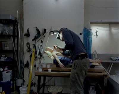 Atelier de Ron Mueck, Octobre 2009