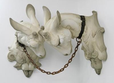 "Beth Cavener – ""Committed"" sculptures"