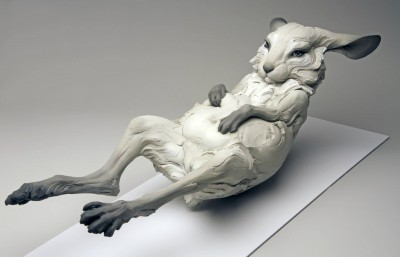 "Beth Cavener – ""Haunted"" sculptures"
