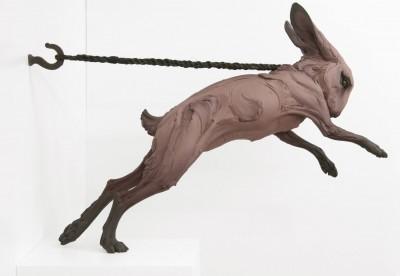 """Beth Cavener – """"Kept"""" sculptures"""