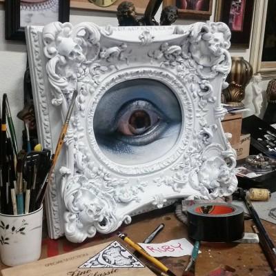 Cam Rackam – Sculptures – Red Eye