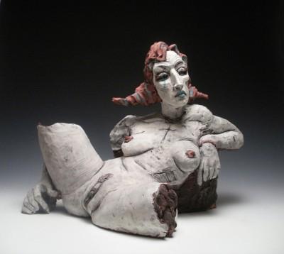 Chris Riccardo – Sculpture – White Girl