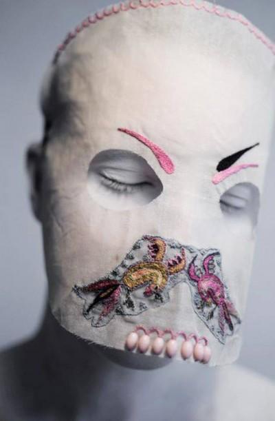 Damselfrau – Mask maker artist / damselfrau.blogspot.fr/