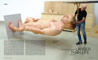 Evan Penny Sculpture